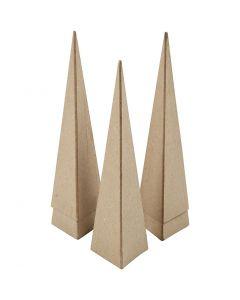 Kegle, H: 20 cm, str. 6x6x6 cm, 5 stk./ 1 pk.