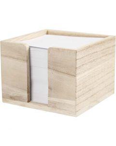 Memoholder, str. 9,5x9,5x7 cm, 1 stk.