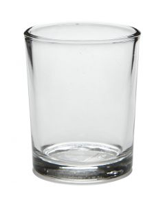 Fyrfadsstage, H: 6,5 cm, diam. 4,5-5,5 cm, 120 ml, 12 stk./ 1 ks.