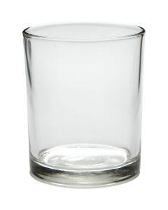 Fyrfadsstage, H: 8,4 cm, diam. 7 cm, 240 ml, 12 stk./ 1 ks.