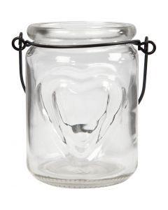Lanterne, H: 9,5 cm, diam. 6,5 cm, 2 stk./ 1 pk.
