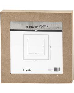 Ramme, str. 30,5x30,5 cm, 1 stk.