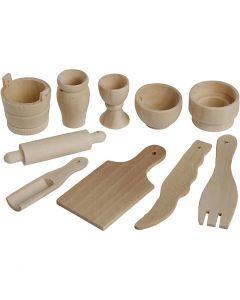 Køkkenredskaber, L: 40-60 mm, 50 stk./ 1 pk.