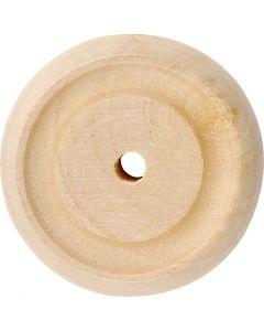 Hjul, diam. 30x10 mm, 40 stk./ 1 pk.