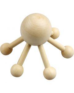 Massage-edderkop, H: 10 cm, B: 13 cm, 1 stk.