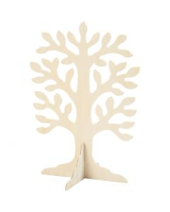 Træ, str. 30x21,5 cm, 10 stk./ 1 pk.