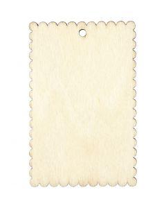 Skilt, str. 8x5,2 cm, tykkelse 3 mm, 8 stk./ 1 pk.