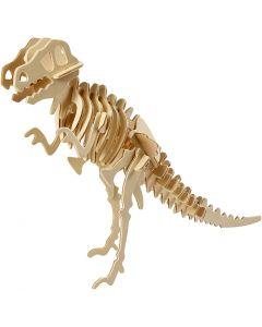 3D Puslespil, dinosaur, str. 33x8x23 cm, 1 stk.