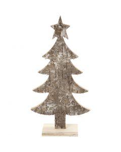 Juletræ, H: 18 cm, B: 9 cm, 1 stk.