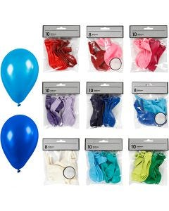 Balloner, ass. farver, 30 pk./ 1 pk.