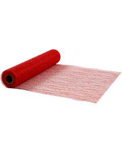 Bordløber, B: 30 cm, rød, 10 m/ 1 rl.