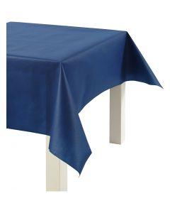 Dug af imiteret stof, B: 125 cm, 70 g, mørk blå, 10 m/ 1 rl.
