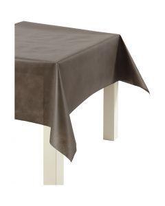 Dug af imiteret stof, B: 125 cm, 70 g, brun, 10 m/ 1 rl.
