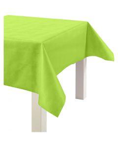 Dug af imiteret stof, B: 125 cm, 70 g, limegrøn, 10 m/ 1 rl.