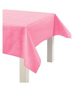 Dug af imiteret stof, B: 125 cm, 70 g, pink, 10 m/ 1 rl.