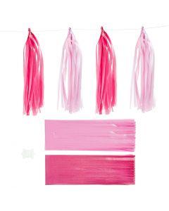Kvast, str. 12x35 cm, pink, lyserød, 12 stk./ 1 pk.