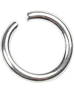 O-ring, str. 7 mm, tykkelse 1 mm, forsølvet, 400 stk./ 1 pk.