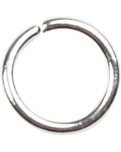O-ring, str. 5,4 mm, tykkelse 0,7 mm, forsølvet, 500 stk./ 1 pk.