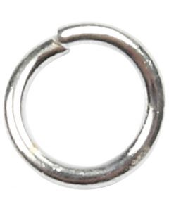 O-ring, str. 4,4 mm, tykkelse 0,7 mm, forsølvet, 500 stk./ 1 pk.