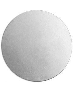 Tag, Rund, diam. 20 mm, tykkelse 1,3 mm, aluminium, 15 stk./ 1 pk.