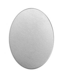 Tag, Oval, str. 25x18 mm, tykkelse 1,3 mm, aluminium, 15 stk./ 1 pk.