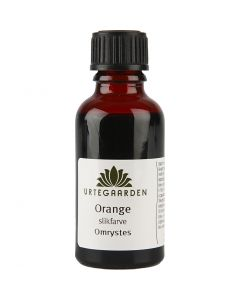 Slikfarve, orange, 30 ml/ 1 fl.