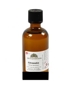 Citronolie, ØKO, 100 ml/ 1 fl.