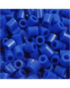 Rørperler, str. 5x5 mm, hulstr. 2,5 mm, medium, mørk blå (32232), 6000 stk./ 1 pk.