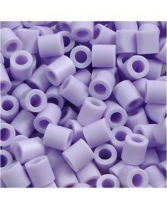 Rørperler, str. 5x5 mm, hulstr. 2,5 mm, medium, syren (32245), 6000 stk./ 1 pk.