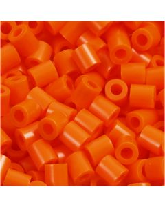 PhotoPearls, str. 5x5 mm, hulstr. 2,5 mm, klar orange (13), 1100 stk./ 1 pk.
