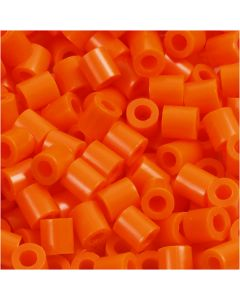 PhotoPearls, str. 5x5 mm, hulstr. 2,5 mm, klar orange (13), 6000 stk./ 1 pk.