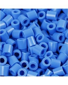 PhotoPearls, str. 5x5 mm, hulstr. 2,5 mm, blå (17), 6000 stk./ 1 pk.