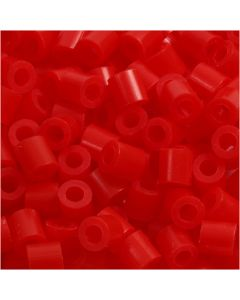 PhotoPearls, str. 5x5 mm, hulstr. 2,5 mm, lys rød (19), 1100 stk./ 1 pk.