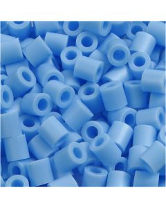 PhotoPearls, str. 5x5 mm, hulstr. 2,5 mm, blå pastel (23), 1100 stk./ 1 pk.