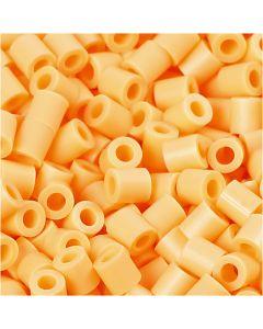 PhotoPearls, str. 5x5 mm, hulstr. 2,5 mm, lys orange (26), 6000 stk./ 1 pk.