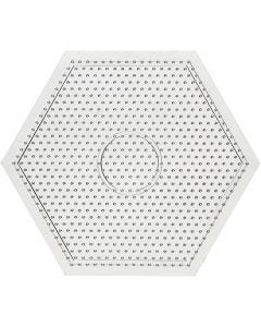 Perleplade, str. 15x15 cm, 10 stk./ 1 pk.