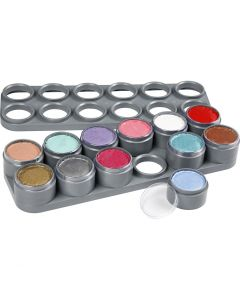 Grimas Ansigtsmaling - Sminkepalette, ass. farver, 12x15 ml/ 1 stk.