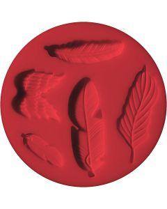FIMO® forme, fjer, diam. 7 cm, 1 stk.