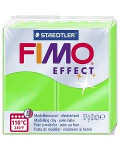 FIMO® Effect, neon grøn, 57 g/ 1 pk.