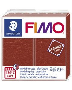 FIMO® Leather Effect , rust (749), 57 g/ 1 pk.
