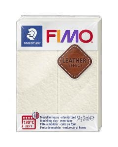 FIMO® Leather Effect , ivory (029), 57 g/ 1 pk.