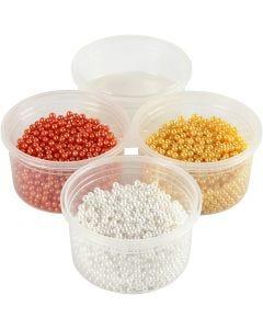 Pearl Clay®, orange, hvid, gul, 1 sæt