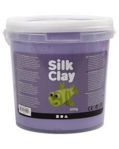 Silk Clay®, lilla, 650 g/ 1 spand