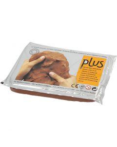 Selvhærdende ler, terrakotta, 12x1000 g/ 1 pk.