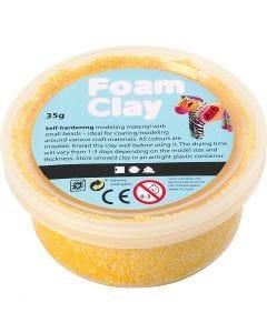 Foam Clay®, gul, 35 g/ 1 ds.