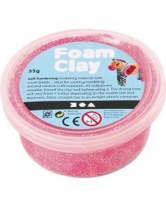 Foam Clay®, neon pink, 35 g/ 1 ds.