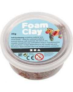 Foam Clay®, brun, 35 g/ 1 ds.