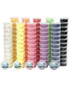 Foam Clay®, ass. farver, 10x12 ds./ 1 pk.