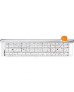 Combo Rotary Cutter & Ruler, L: 62 cm, B: 15,5 cm, 1 stk.