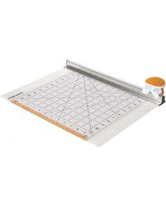 Combo Rotary Cutter & Ruler, L: 31 cm, 1 stk.